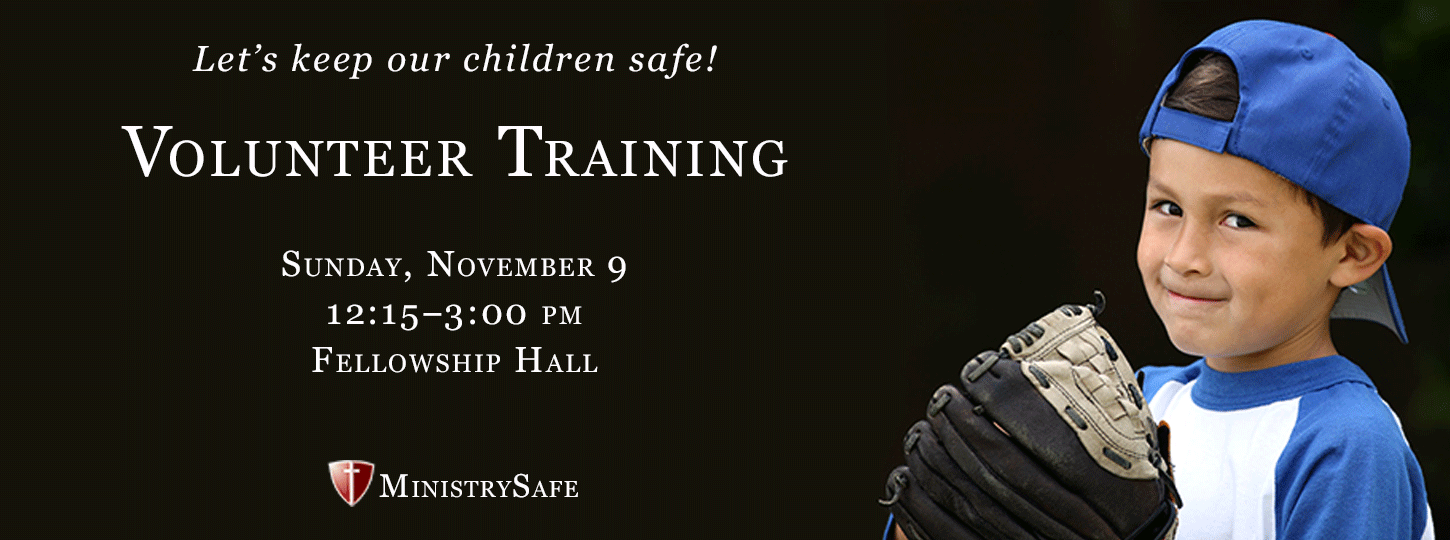 MinistrySafe Volunteer Training