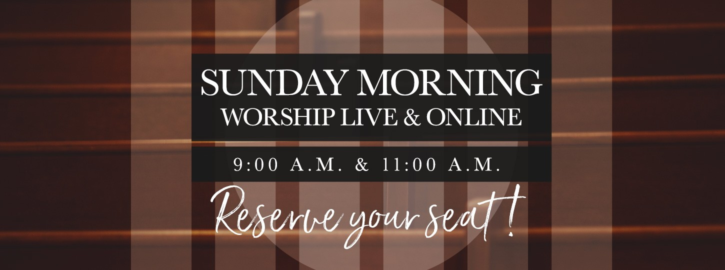 Reserve a Seat for Worship