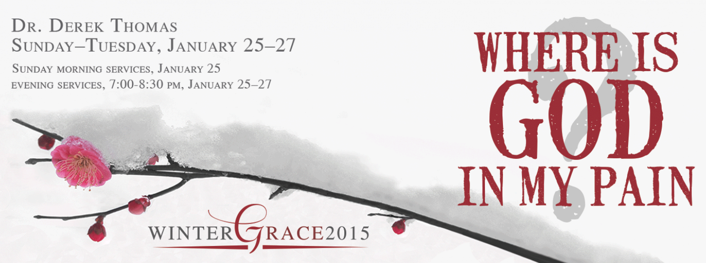Where is God in My Pain?  WinterGrace2015