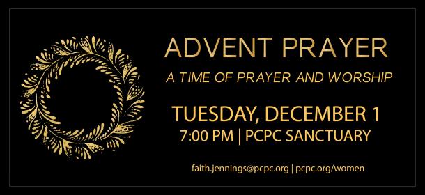 Women's Advent Prayer