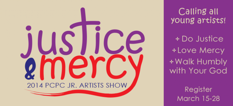Justice & Mercy: PCPC Junior Artists Show