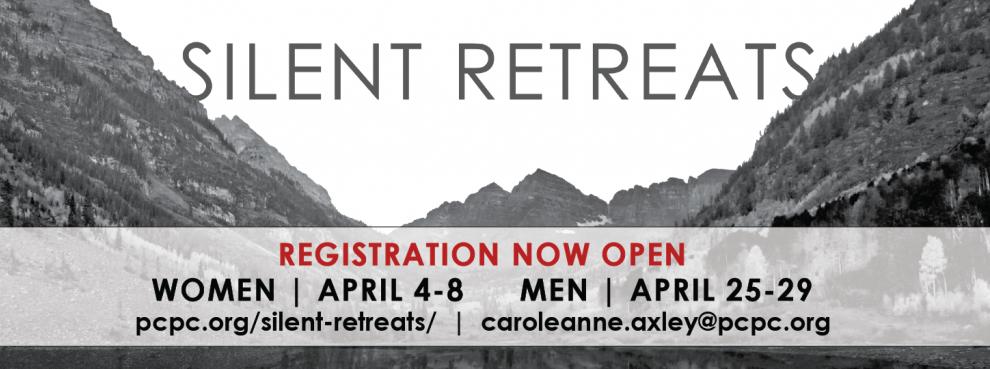 Silent Retreats 1450 x 540