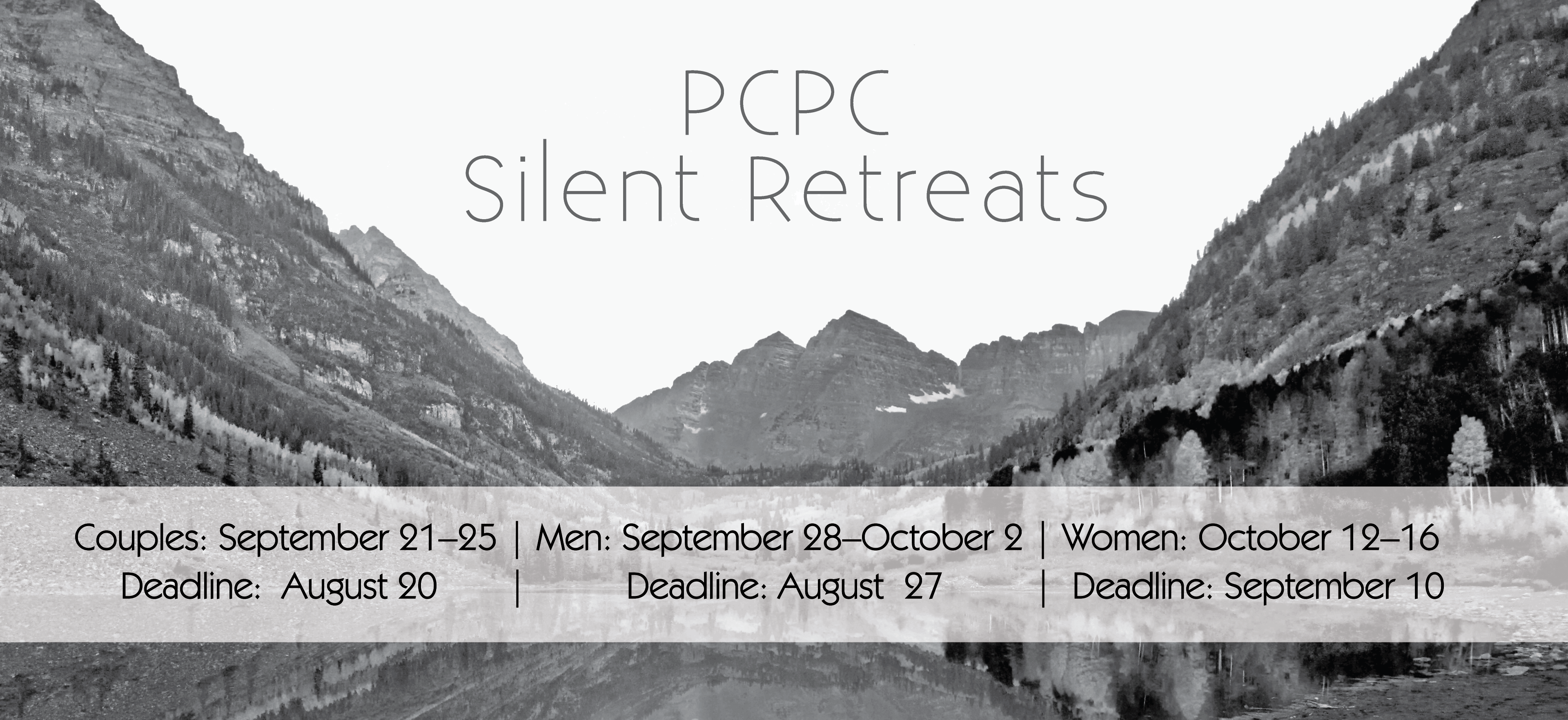Women's Fall Colorado Silent Retreat