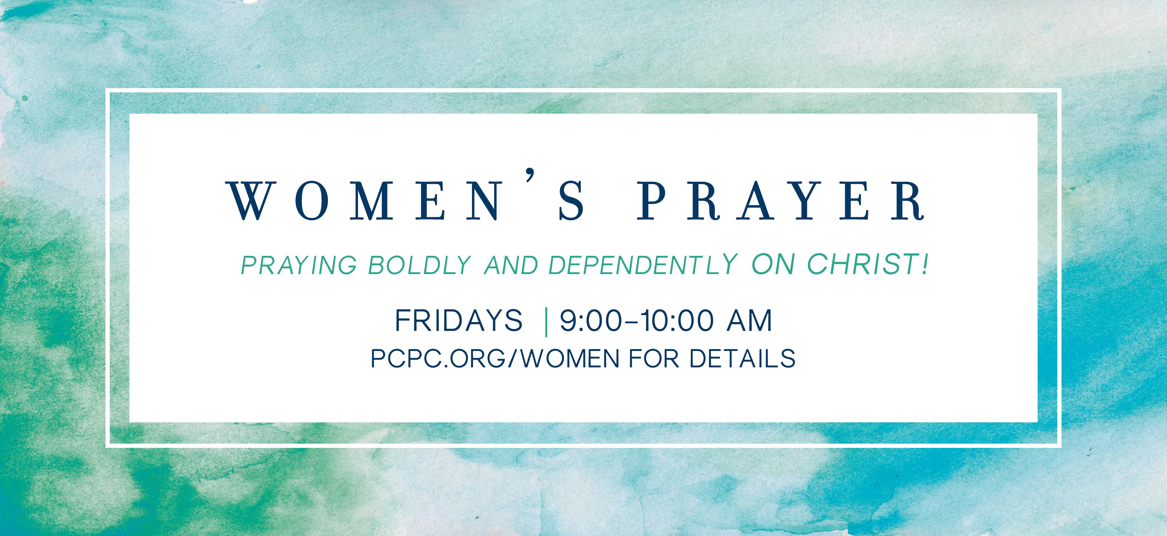 Women's Prayer